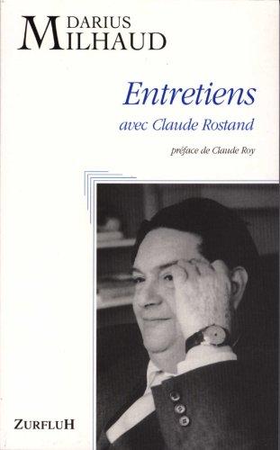 Entretiens avec Claude Rostand