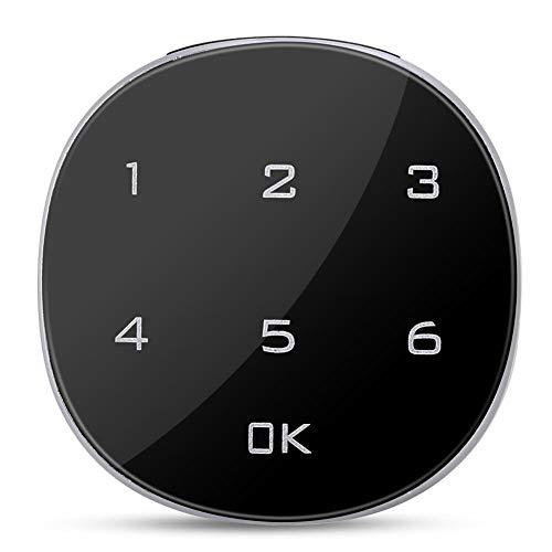 Qinlorgo Kombinationsschloss Touchscreen Elektronisches Passwortschloss für die Aufbewahrung von Hausschlüsseln, Kombinationsschloss (Elektronisches Kombinationsschloss)