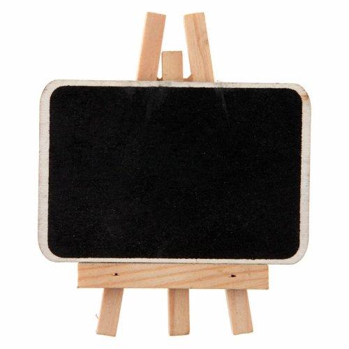 Staffelei Tafel ca. 6,5x4,5 cm, 4 St., Natur