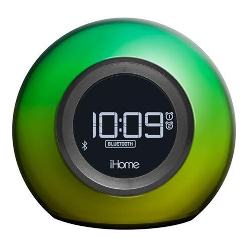 iHome iBT29 Dual Radio Wecker mit Bluetooth, Freisprecheinrichtung und Farbwechsel-Funktion