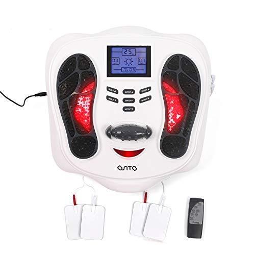 Osito EMS Fußmassagegerät Fußdurchblutungsgerät - Steigerung der Durchblutung und Linderung schmerzender Füße Beine, Beinmuskulatur stärken Beine, Beinmuskulatur stimulieren Stimulator für Neuropathie