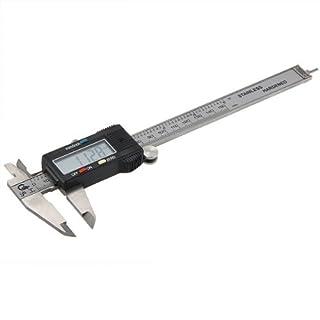 Elektronische digitale Messschieber mit LCD 150mm 6 Zoll in Hartschale by DURSHANI
