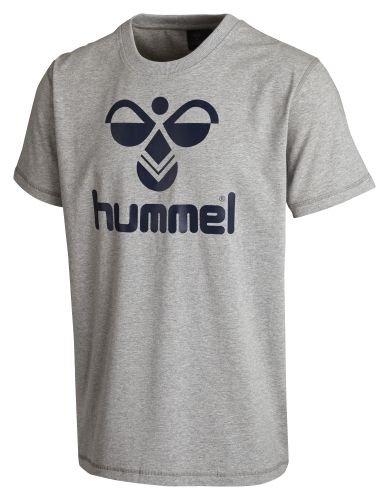 Hummel Classic Bee Cotton Tee T-Shirt dunkelblau-orange Kinder SARGASSO SEA, 152