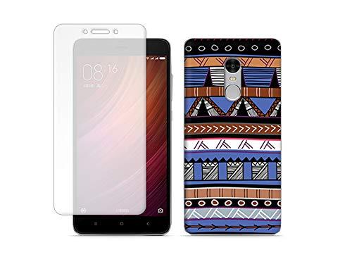 etuo Xiaomi Redmi Note 4 - Hülle Full Body Slim Fantastic - Ethnische Muster - Handyhülle Schutzhülle Etui Case Cover Tasche für Handy