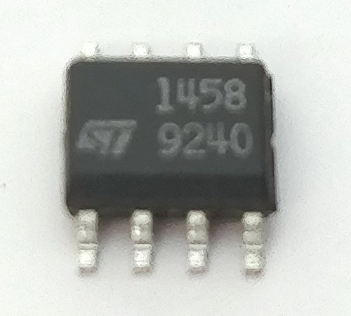 30 Stück MC1458D DUAL OPERATIONAL AMPLIFIERS IC | Vcc +/-22V | SO-8 Gehäuse -