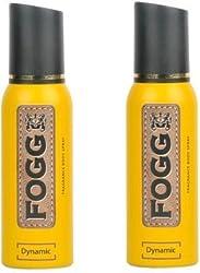 Fogg Dynamic Body Spray -120 ml (pack of 2)