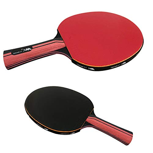 YALESS(M K (R&B Knight) Spezieller Tischtennisschläger für sechs Sterne Wettkampf (Shakehand Grip)