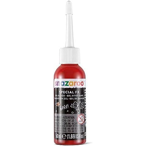 Snazaroo - Gel sangre para efectos especiales FX, 50 ml, color rojo oscuro