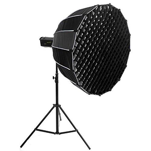 PHOTAREX | NICEFOTO Deep Parabol Softbox - 150cm - mit Wabe für Elinchrom