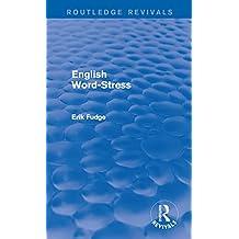 English Word-Stress