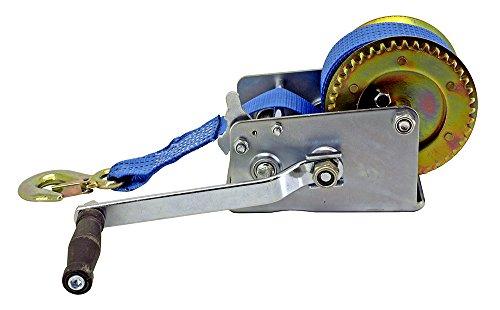 Nylon Gurt Hand Seilwinde 3,200lbs Handkurbel Heavy Duty Seilwinde ATV Trailer Boot - Boot Trailer Gurt