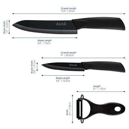 couteau ceramique aicok