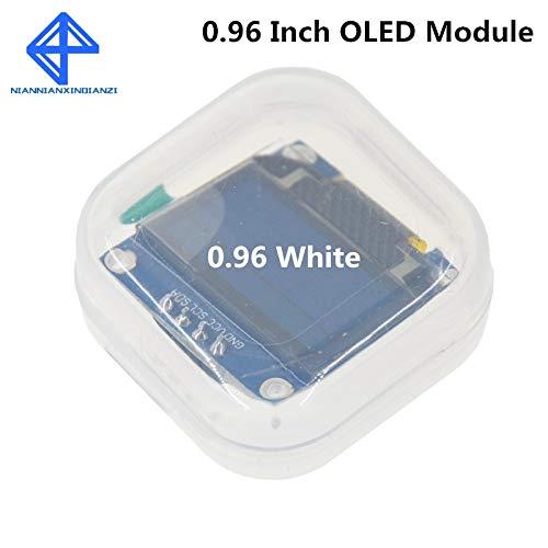 Weiße Farbe 128X64 OLED LCD LED Anzeigemodul für Arduino 0,96