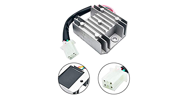 Dulala Gleichrichter Spannungsregler 12 V Ac Universal Regler Für Motorrad Fahrrad Quad Scooter Küche Haushalt