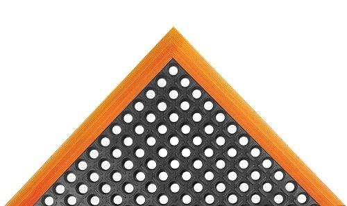 Notrax Anti-Ermüdungsmatte - gelocht - LxB 1630 x 970 mm - Bodenbelag Bodenmatte Industriematte Industriematten Steharbeitsmatte Steharbeitsmatten Anti-Rutschmatte Gummimatte Sicherheitsmatte -