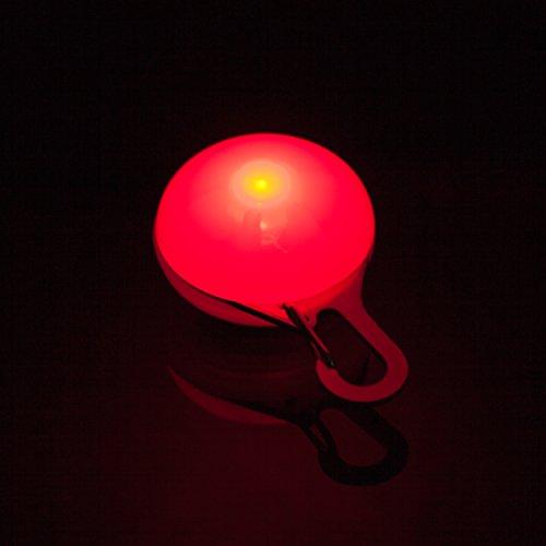 DIGIFLEX LED-Blinklicht für Hundehalsband für Haustier Hund Katze Halsband rot - 3