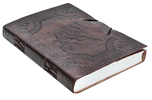 Gusti Leder nature ''Ava'' Notizblock Buch Tagebuch DIN B5 Skizzenbuch aus Rindsleder...