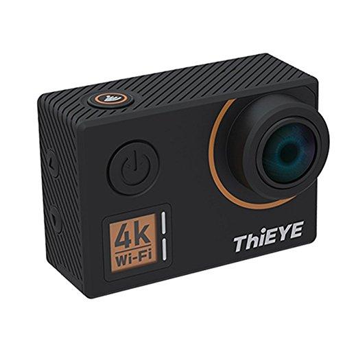 iBellete ThiEYE T5Edge - Cámara de vídeo Deportiva WiFi 4K (14 MP, ángulo Amplio de 170 Grados, Pantalla de 2 Pulgadas)