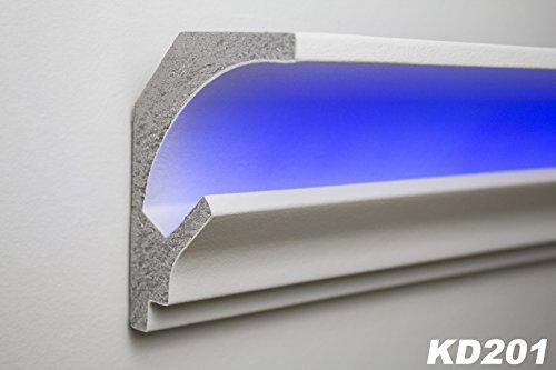 1,15 Meter LED Stuckleiste für indirekte Beleuchtung XPS 115x90, KD201