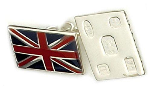 argento-sterling-cufflink-union-jack-flag-includono-hallmark-personalizzato-nella-casella-inciso