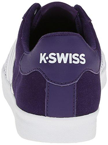K-Swiss Belmont So T M, Baskets basses femme Violet - Purple (Purple/White)