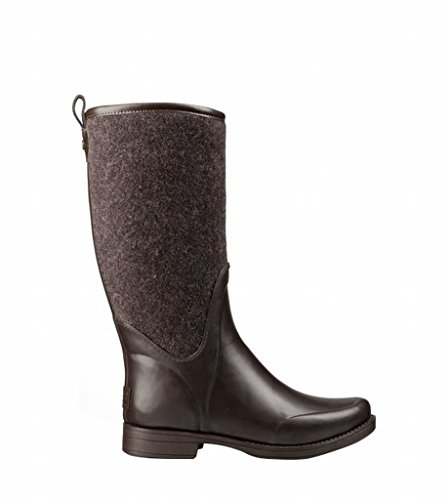 Marion Footwear Damen reignfall Schokolade Gummi Außensohle 32,4cm Schaft Höhe Wasserdichte Konstruktion Tall Stiefel Schuhe 1014455, damen, schokoladenbraun, W7=UK5.5=EUR38 Snowboard-boots Größe 12