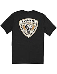 Tee shirt Element Roar Flint Noir