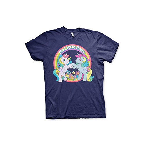 Offizielles Lizenzprodukt My Little Pony - Best Friends T-Shirt (Marineblau), X-Large