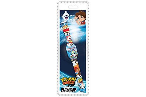 Disney–yo-Kai reloj digitale LED 12piezas, yk17003