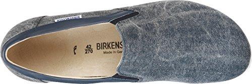 Birkenstock Herrenschuhe 1004721 Jenks Men Herren Slipper, herausnehmbares original Birkenstock Fußbett Navy