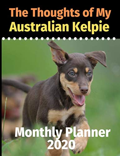The Thoughts of My Australian Kelpie: Monthly Planner