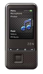 Creative Labs ZEN style 300 8GB  Lecteur MP3 Noir
