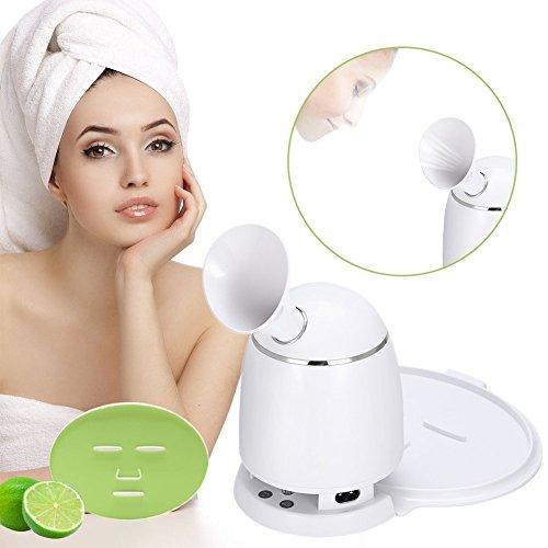 2in1 Ionic Facial Steamer Und Obst Maske Maschine, Multifunktions DIY Natürliche Obst Gemüse Maske Maker, Heißer Nebel Feuchtigkeitsspendende Persönliche Hautpflege Schönheit Werkzeug(EU)