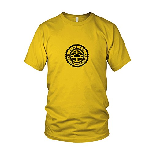 King Kai Kostüm - DBZ: King Kai University - Herren T-Shirt, Größe: S, Farbe: gelb