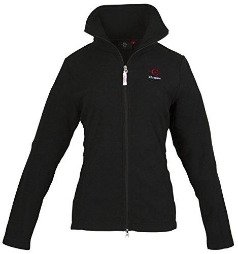 Kerbl Damen Fleecejacke-C-Absolute Jacke, schwarz, XL