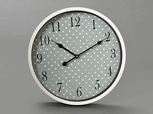 Horloge romantique à pois 40CM