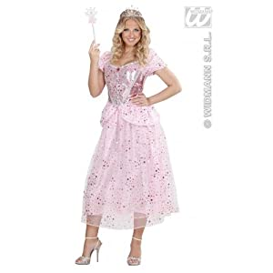 WIDMANN Desconocido Disfraz de Princesita Rosa Mujer
