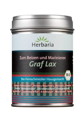 Herbaria Graf Lax - Hausgemachtes zum Beizen und Marinieren, 1er Pack (1 x 100 g) - Bio