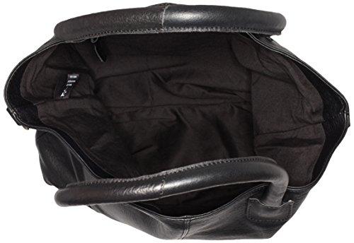 Black Lily Damen Rock Shopper, 40x38x12 cm Schwarz (Schwarz)