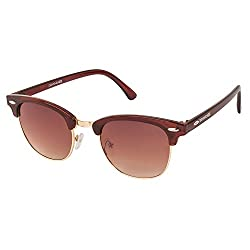 Danny Daze Club Master Sunglasses (Brown) (D-1212-C2)