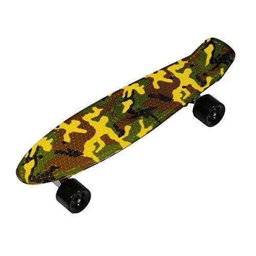 'Rollingbull Camouflage Military Retro Penny Cruiser Skateboard 22Ã'Â Skate Board by RollingBull