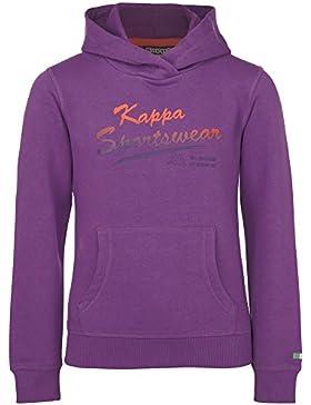 Kappa–Sudadera para niña Zenia morado light purple Talla:10 años (140 cm)