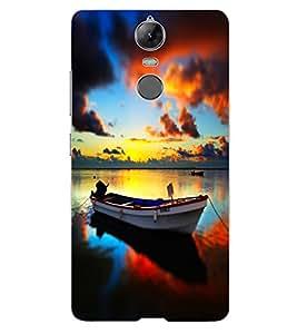 ColourCraft Beautiful Boat Design Back Case Cover for LENOVO VIBE K5 NOTE PRO