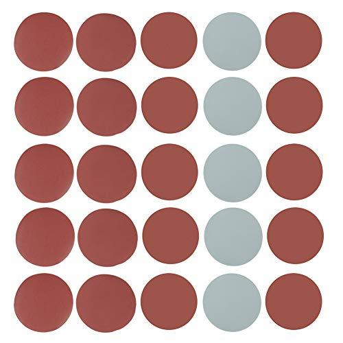 25 stücke Mix Grit Sander Disc 5 zoll 800/1000/1500/2000/3000 Schleifpapier Polierpapier Pads Schleifpapier Set