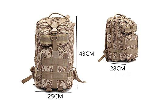 gli amanti di sport esterni 40L sacchetto di campeggio trekking multifunzione borsa di tela dello Zaino dello zaino degli uomini un'escursione zaino, G C