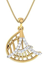 Gold Plated Alphabet 'A' Letter Pendant Locket With Chain For Men And Women