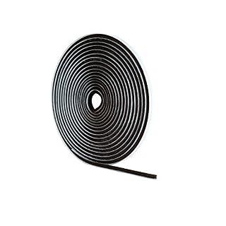 STORMGUARD 05SR474005MG 5m Self-Adeshive Brush Pile Draught Excluder-Grey, L-5 Metres W-5mm H-6mm
