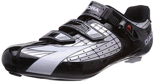 Diadora TRIVEX PLUS, Unisex-Erwachsene Radsportschuhe - Rennrad, Silber (silber/schwarz/weiß 1147), 49 EU