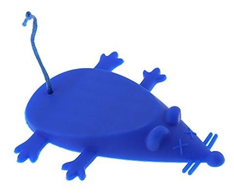 Cale de porte souris Bleu Caoutchouc Silicone Butée arrêt Porte pour domicile bureau