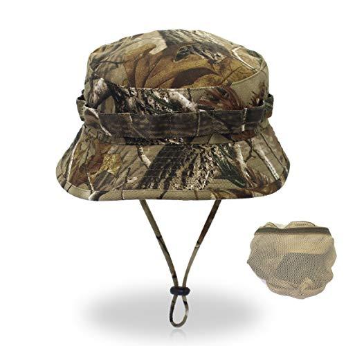 er Baumwolle Hut Ultraleichter schnelltrocknender Hut Sport Wander Laufmütze Deckel im Freien,Digital Outdoor Camping, trockene Äste, Tarnung kann angepasst Werden ()